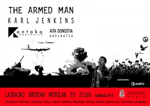 THE ARMED MAN 2014